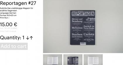 Reportagen #27