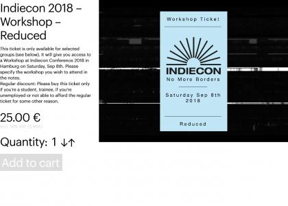 Indiecon 2018 – Workshop – Reduced