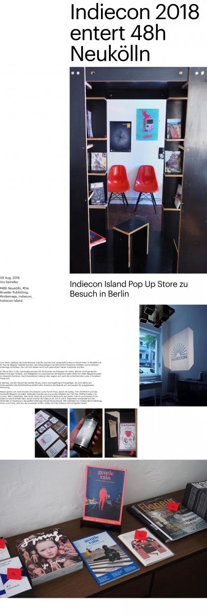 Indiecon 2018 entert 48h Neukölln