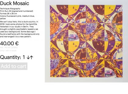 Duck Mosaic