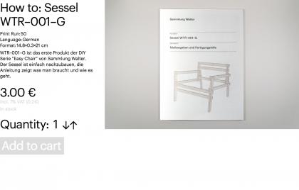 How to: Sessel WTR–001–G
