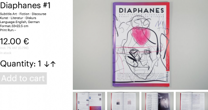 Diaphanes #1