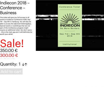 Indiecon 2018 – Conference – Business