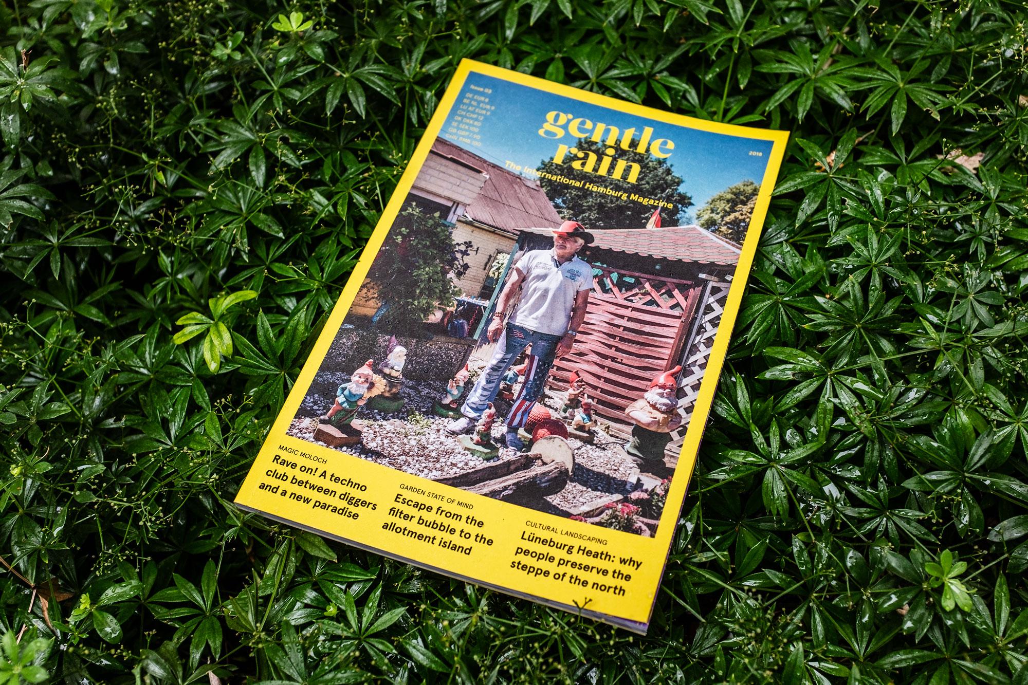 gentle rain - the international hamburg magazine issue 03