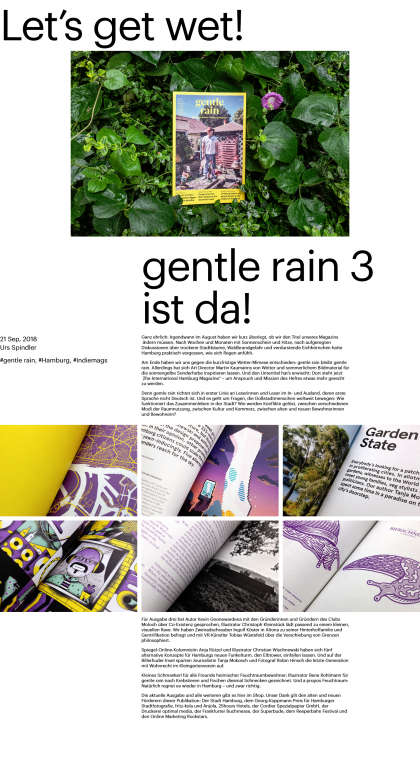 gentle rain 3 – Let's get wet!