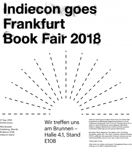 Indiecon Island at Frankfurt Book Fair 2018