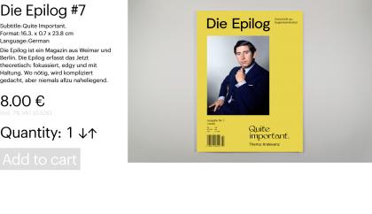 Die Epilog #7