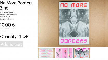 No More Borders Zine