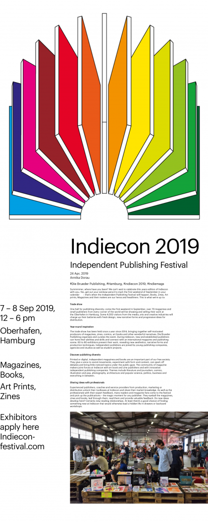 Indiecon 2019 – Independent Publishing Festival