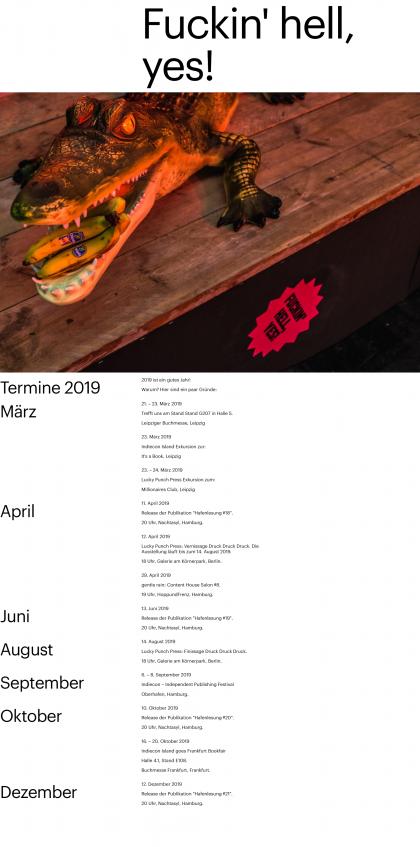 #Die Brueder Publishing – Termine 2019