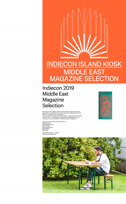 Indiecon Island Kiosk – Middle East Magazine Selection