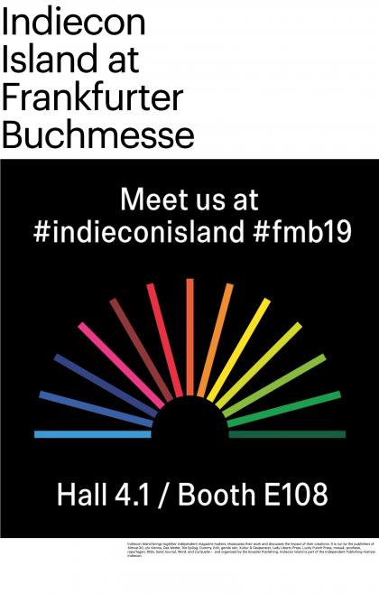 Indiecon Island at Frankfurt Buchmesse