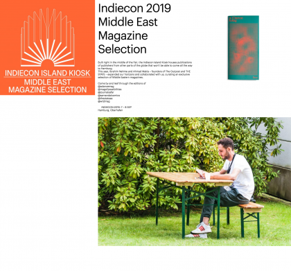Indiecon Island Kiosk 2019 – Middle East Magazine Selection