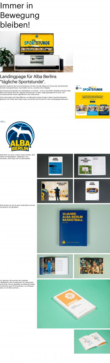 Landingpage ALBA Berlin
