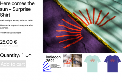 Here comes the sun – Surprise Shirt